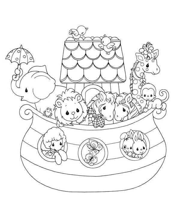 Pm Animals Arca De Noe Desenho Desenhos Para Colorir Carimbos
