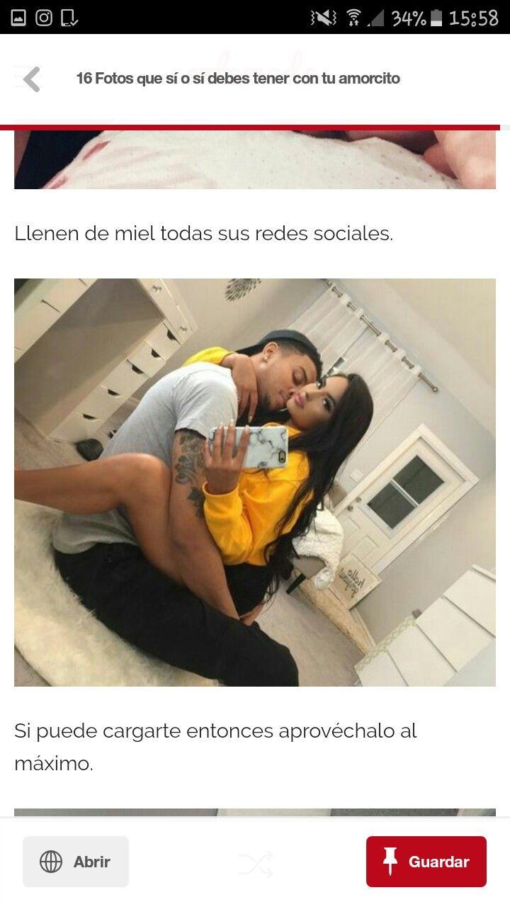 Besos con tu novio que son dignos de una selfie   relacion