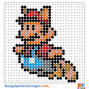 Mario Kart Perler Bead Patterns Bead Sprites 6