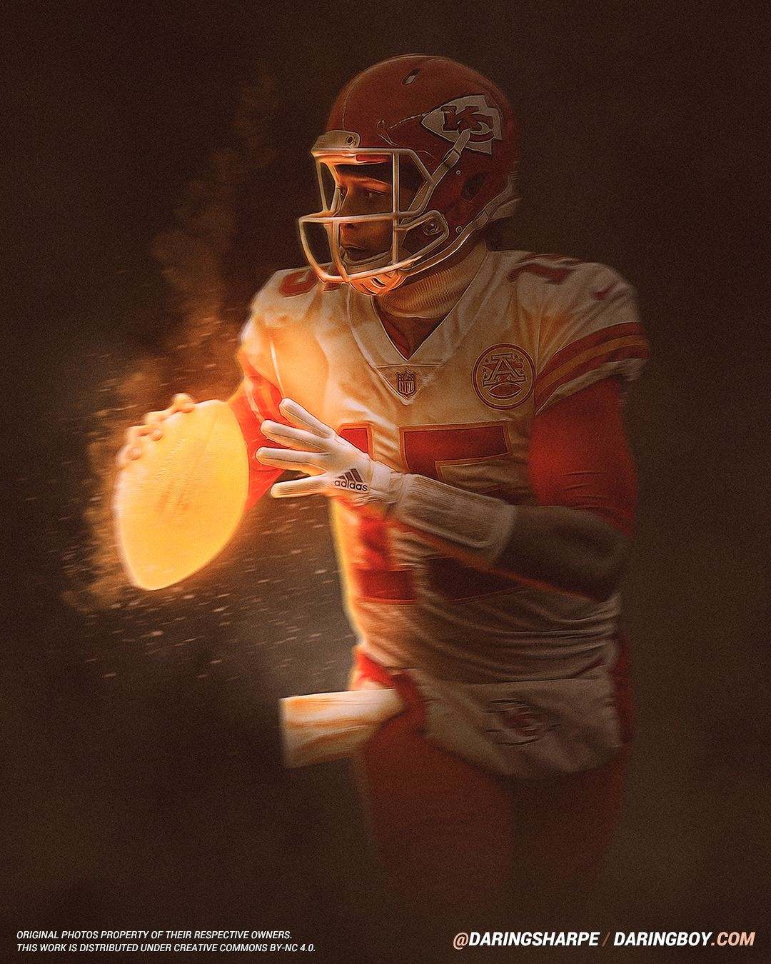 Patrick Mahomes Kansas City Chiefs Daring Boy Interactive Kansas City Chiefs Logo Chiefs Wallpaper Kansas Chiefs