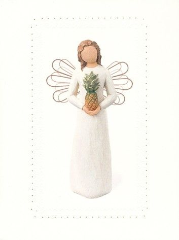 Welcoming angel willow tree greeting cards gifts of faith welcoming angel willow tree greeting cards m4hsunfo
