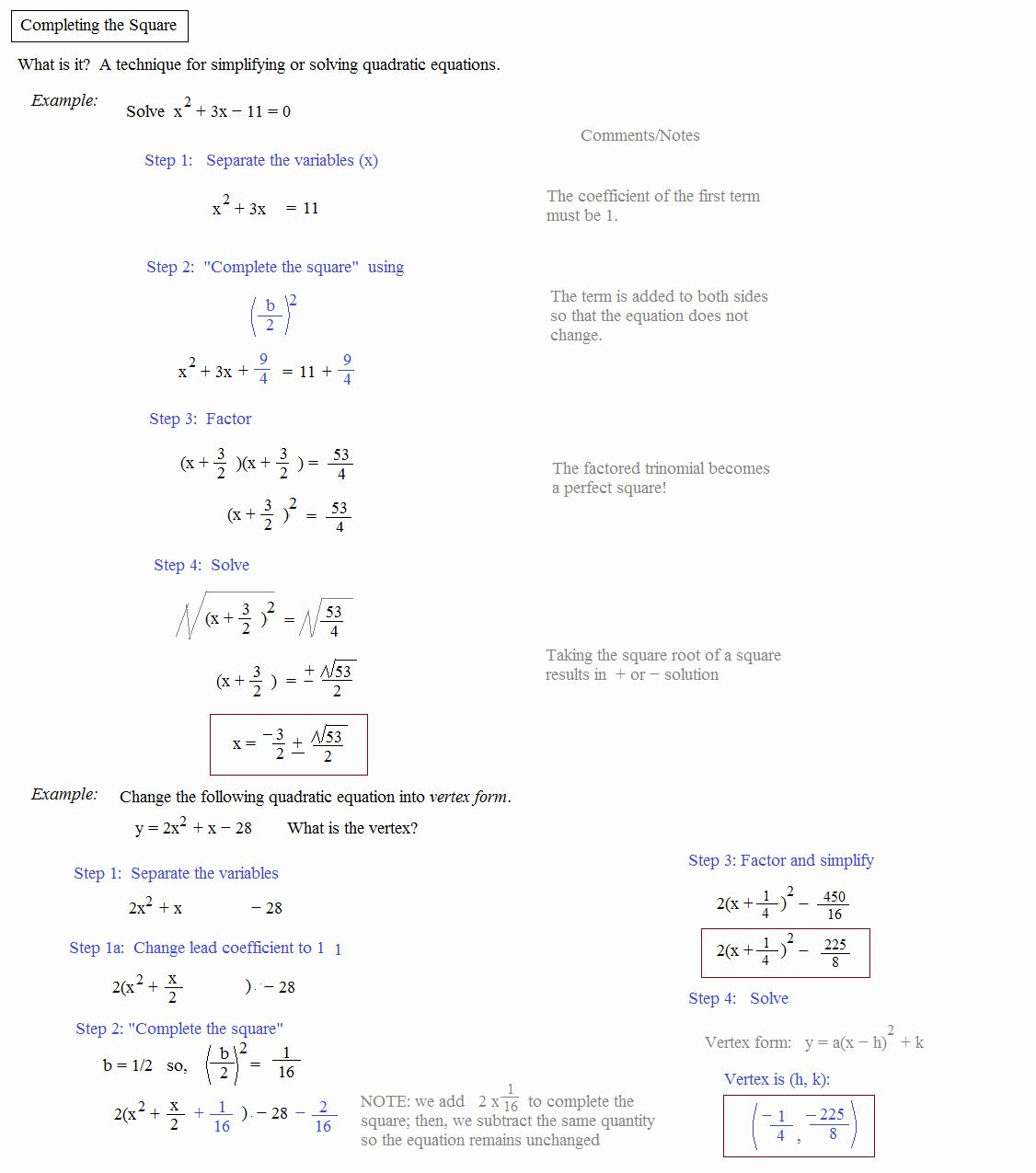 Completing The Square Worksheet Fresh Math Plane Pleting