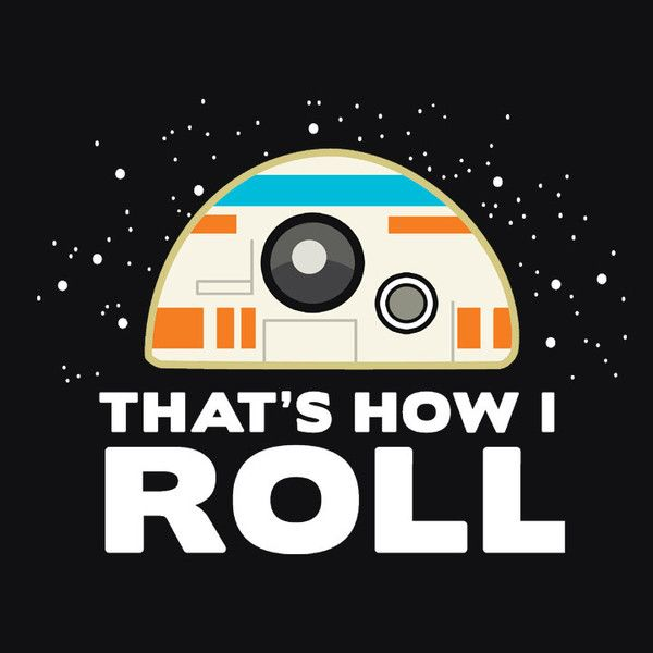 Funny Star Wars The Force Awakens BB-8 T-Shirt | Funny Geek T-Shirt | Men's, Women's and Kid's Sizes. Available from Boots Tees.