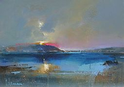 Across the Loch by Peter Wileman PPOI RSMA EAGMA FRSA