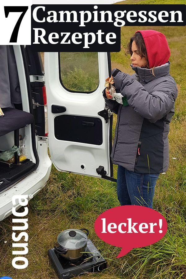 7 schnelle Campingessen Rezepte: Lecker! in 2020  Camping