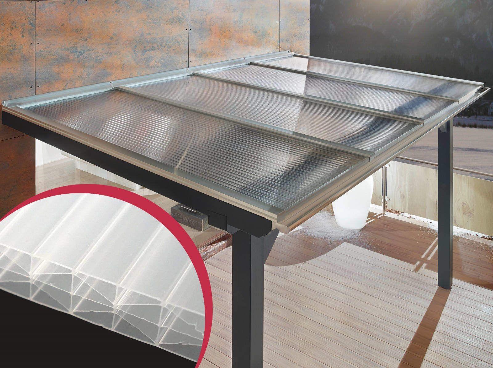 Polycarbonat Doppelstegplatten X Struktur 16 Mm Opal Doppelstegplatten Terrassenuberdachung Uberdachung Terrasse
