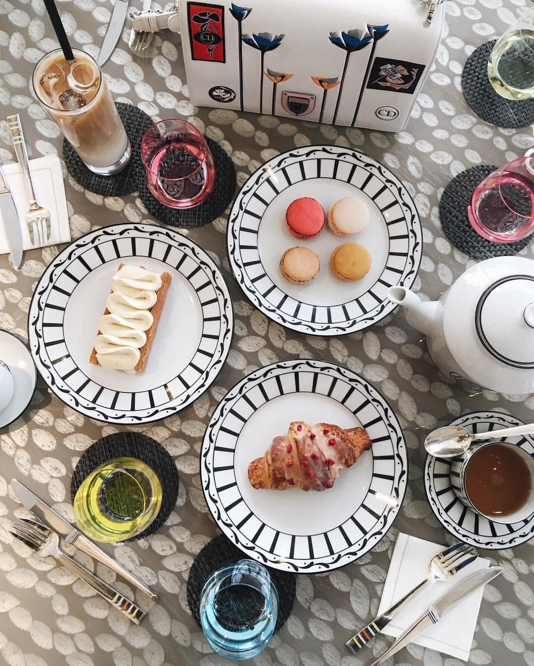 Pretty and super tasty dessert at Dior Cafe   MY KOREA✈   Pinterest