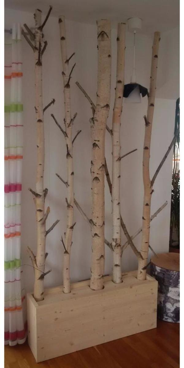 Moderne Deko Idee Wunderbar Birkenstamm Dekoration Deko ...