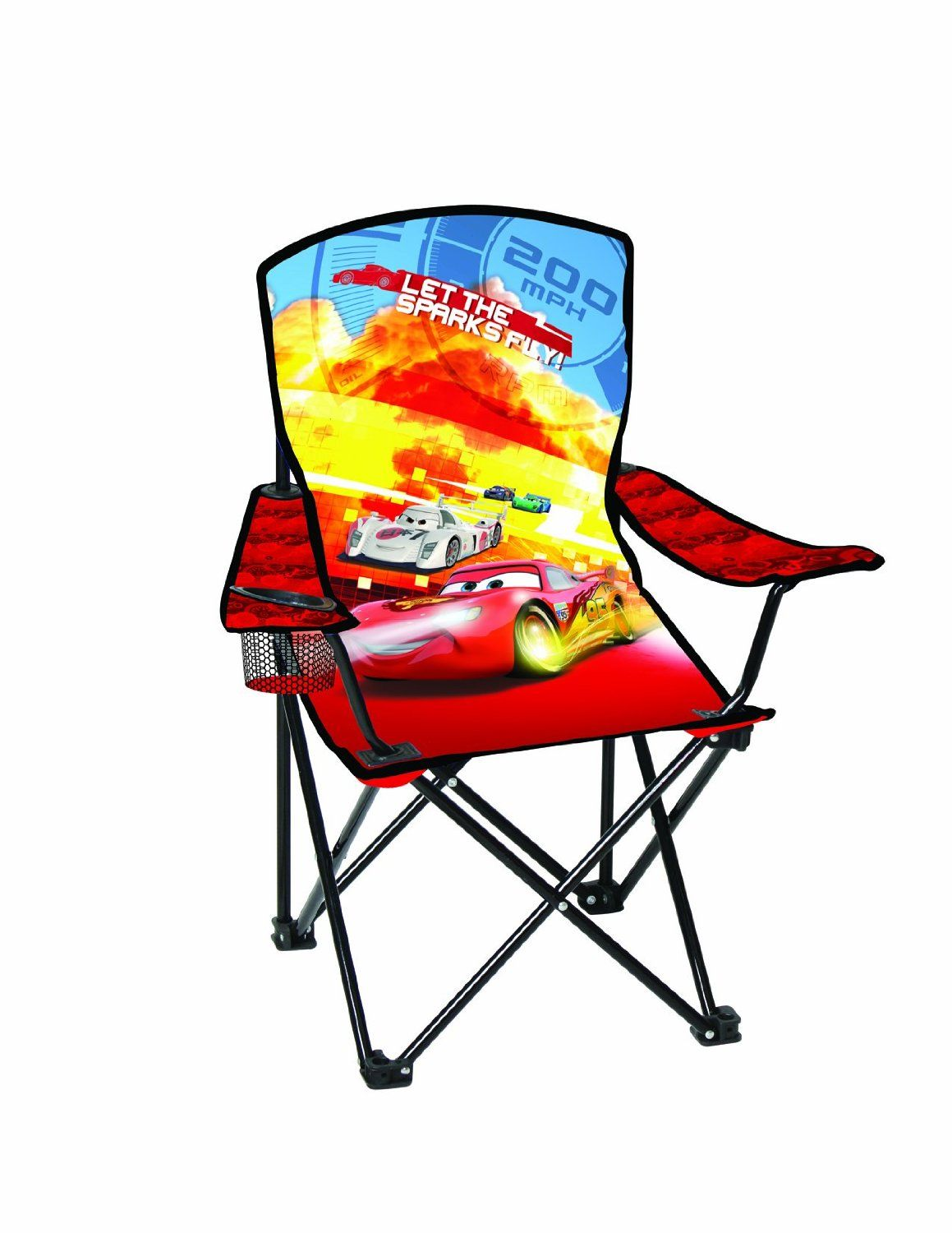 Kids Sports Chairs Mid Century Modern Arm Amazon Disney Youth Folding Chair With Armrest And