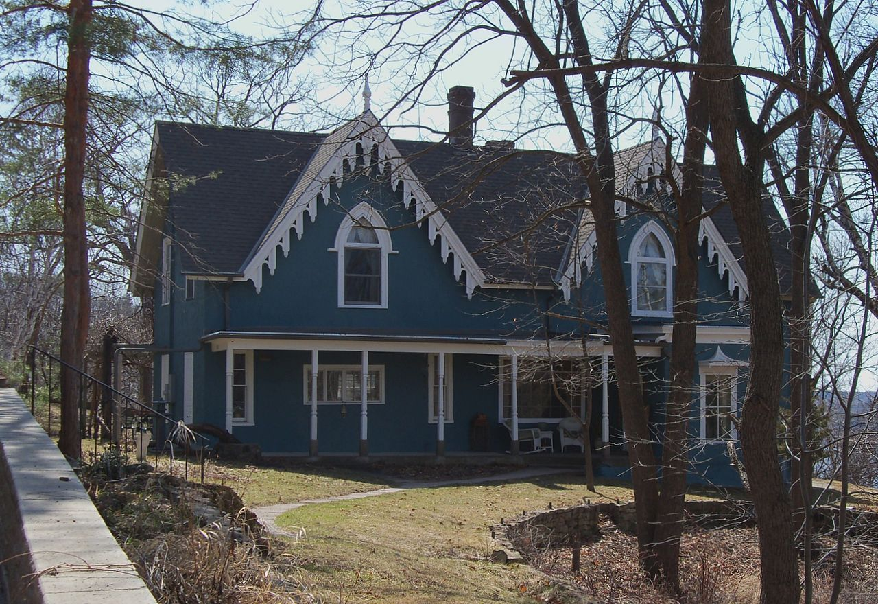 Lewis-Williams House in St. Croix County, Wisconsin.