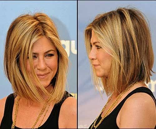 10 Jennifer Aniston Bob Haircuts Hairstyles Medium Hair Styles