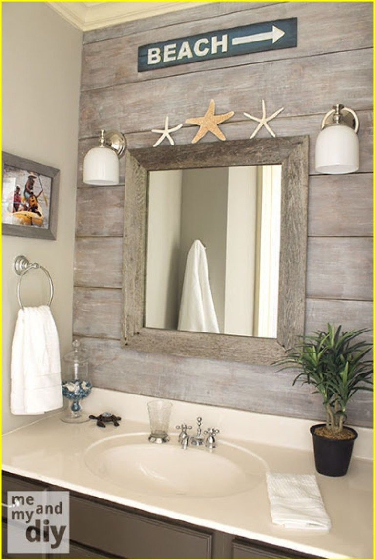 Lake House Decor 00001 With Images Beach Theme Bathroom Beachy Bathroom House Bathroom