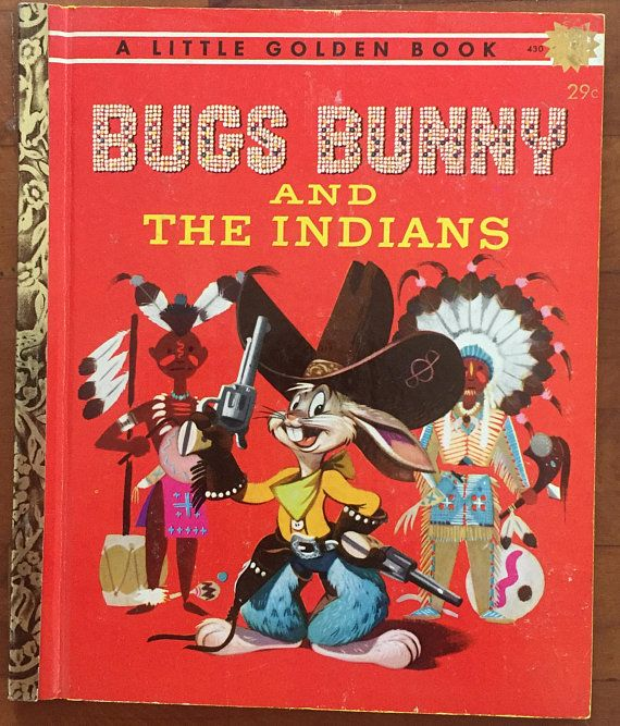 #Book #BUGSBUNNY And The #INDIANS' #LittleGoldenBook