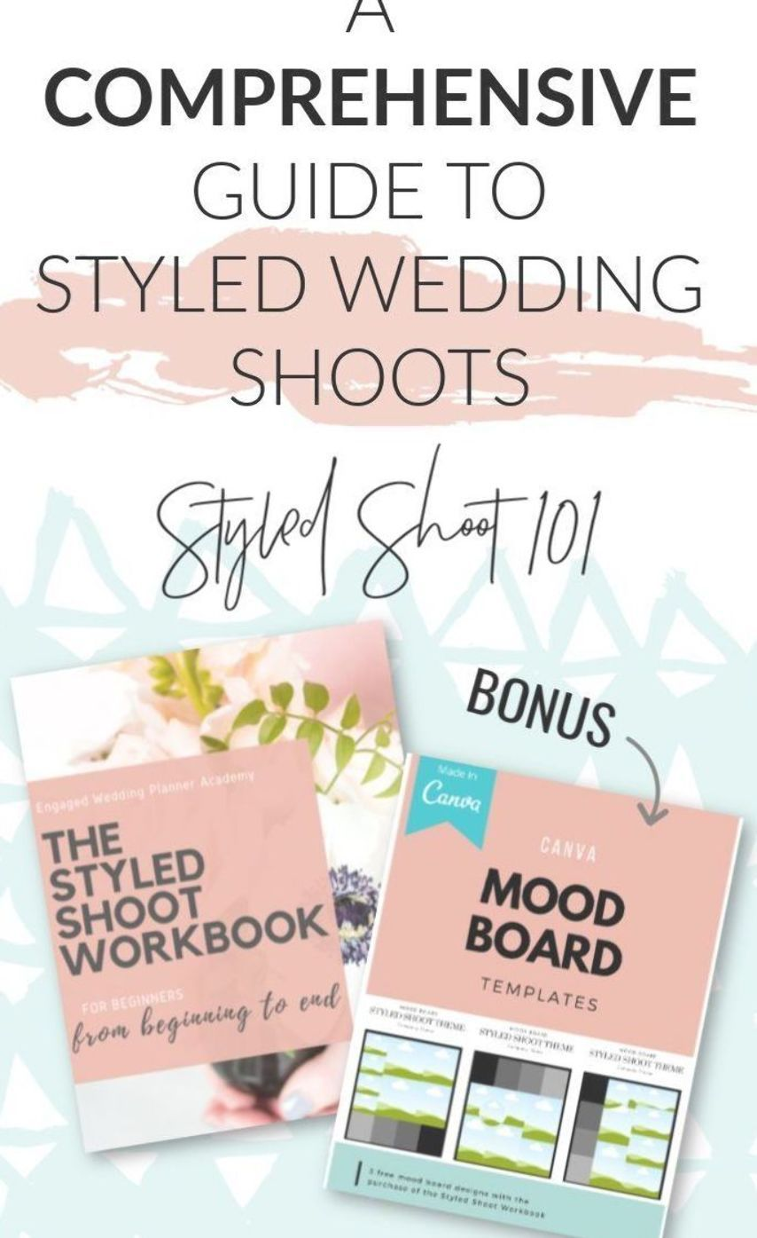 A comprehensive guide to styled wedding shoots exclusively