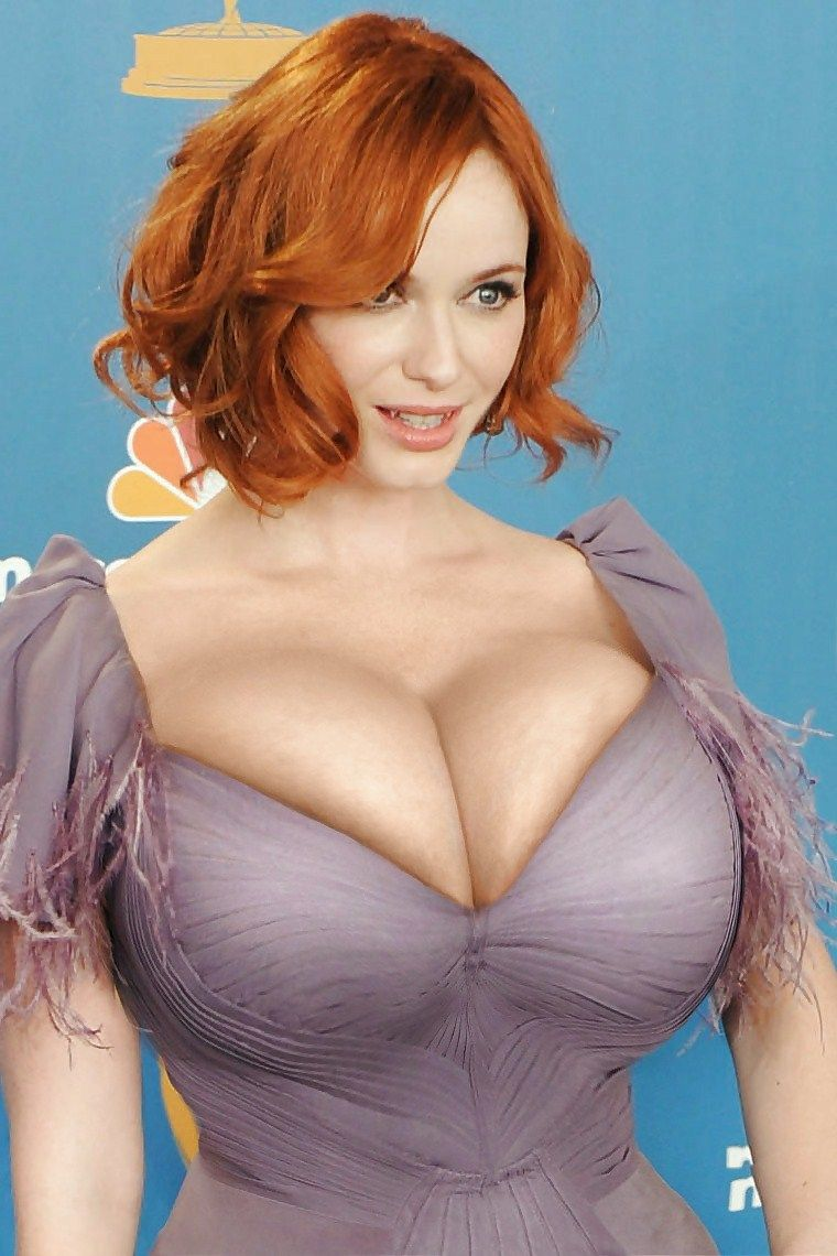 Christina hendricks fake boobs hairy 9