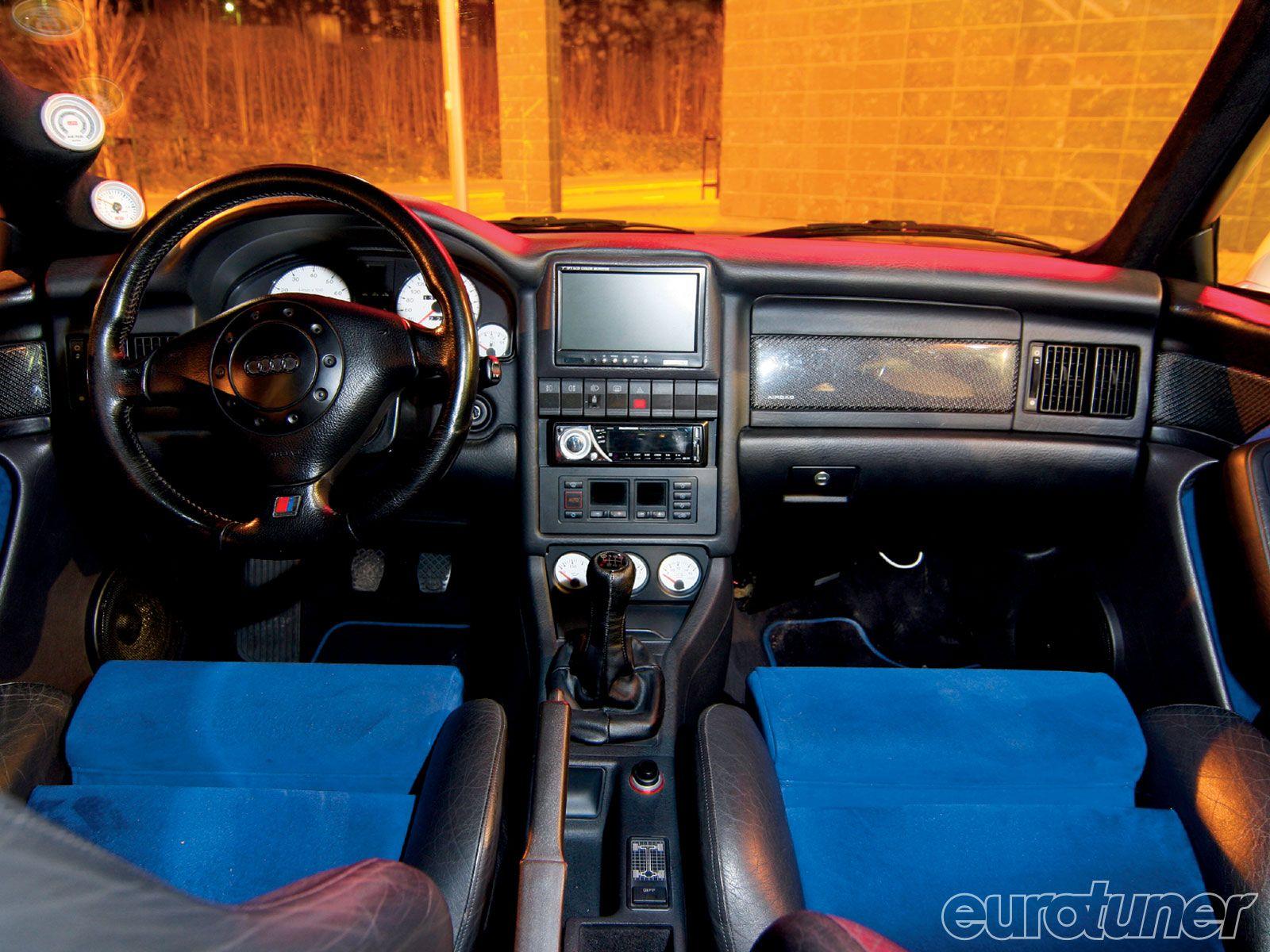 Rally Audi S2 Interior Wwwmiifotoscom