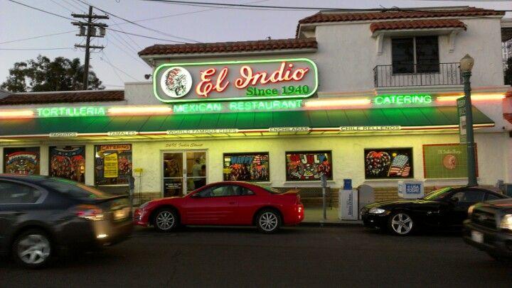 El indio in san diego ca mexican food http