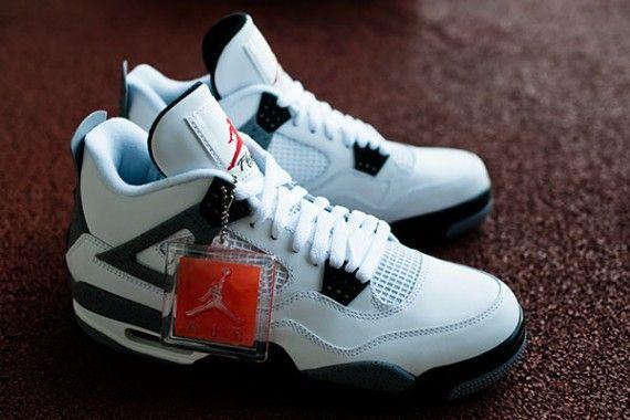 white cement 4s. white cement 4s Air Jordan ... ed8babdfb1