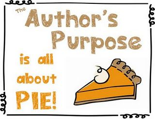 Authors purpose posters