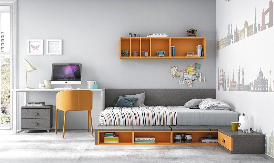 Resultado de imagen para escritorios modernos recamaras - Habitaciones juveniles modernas ...