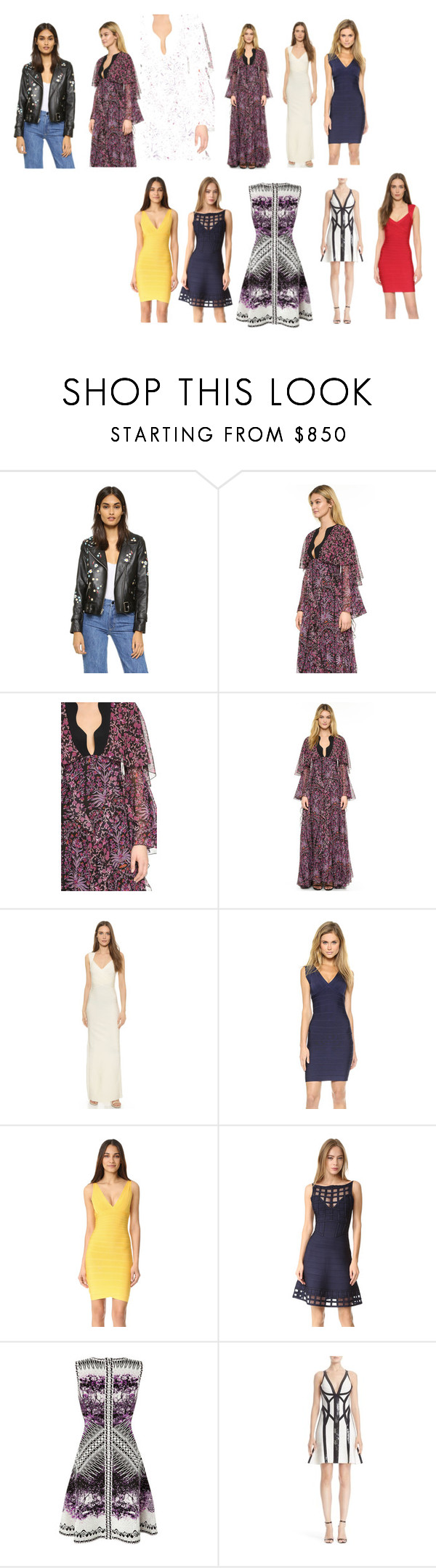"""""""fashion for sale"""" by denisee-denisee ❤ liked on Polyvore featuring Sandy Liang, Giambattista Valli, Hervé Léger and vintage"""