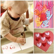 Easy Toddler Valentine Crafts Cbaarch