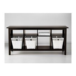HEMNES Sofa Table, Black Brown $199.00 The Price Reflects Selected Options  Article Number: