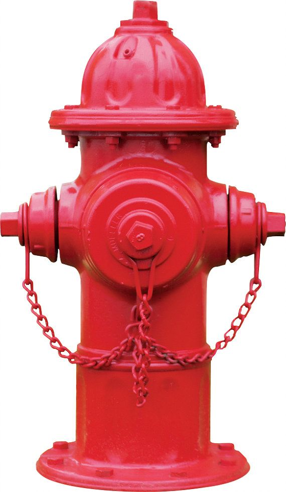 Red fire hydrant wall decal by streetwallz on etsy