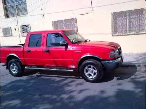 Ford Ranger 2007 Doble Cabina Roja 78 500 00 Ford Ranger Ranger Cabinas