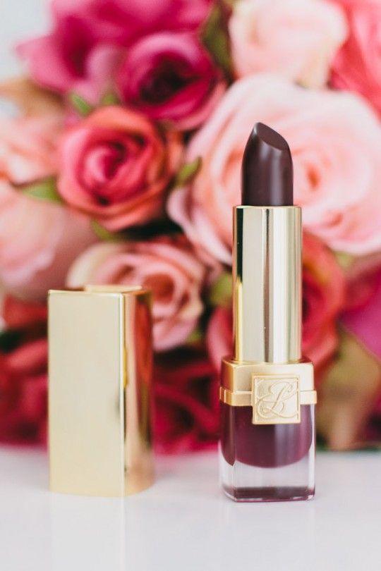 The Perfect Burgundy Lipstick