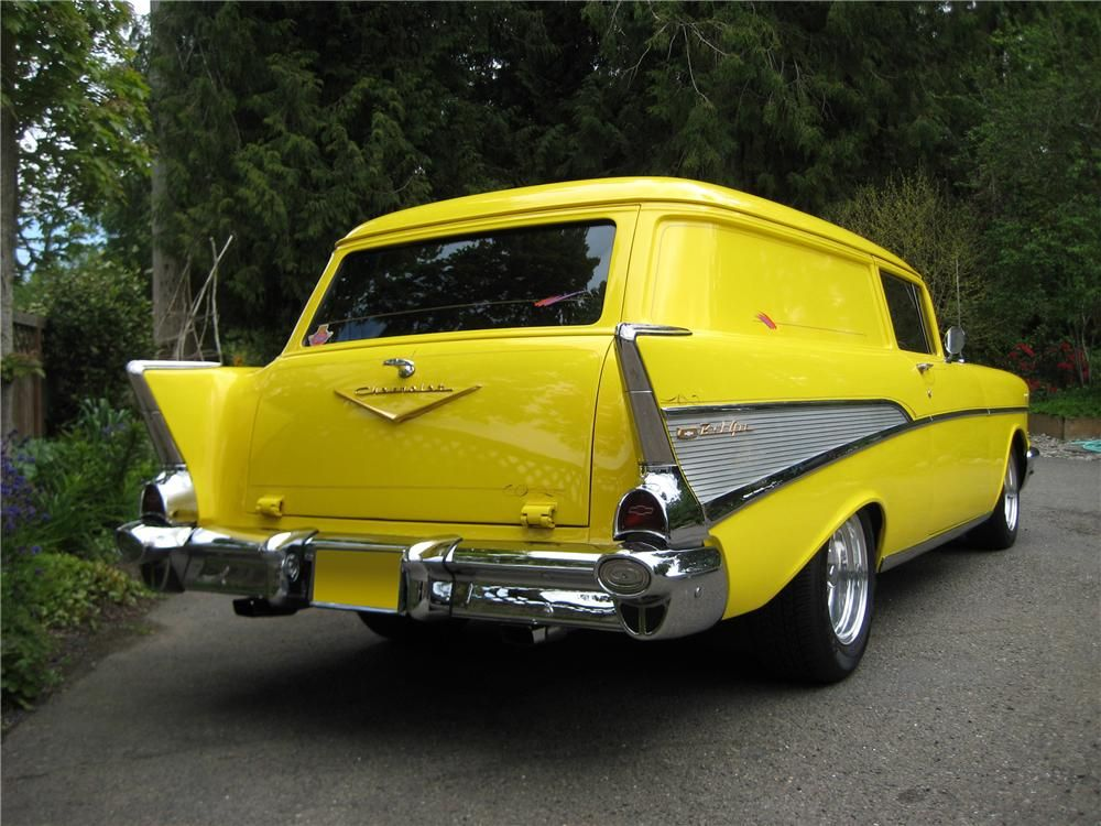 1957 Chevrolet 210 Custom 2 Door Wagon 91053 1957 Chevrolet Wagon Chevrolet