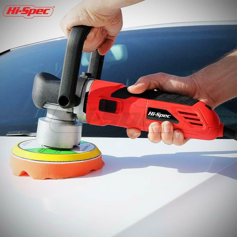 "HiSpec 5.7A Dual Action Random Orbital 6"" Polisher"