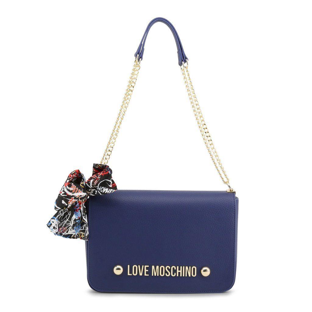 ac94d34e5644 Love Moschino Blue Shoulder Bag