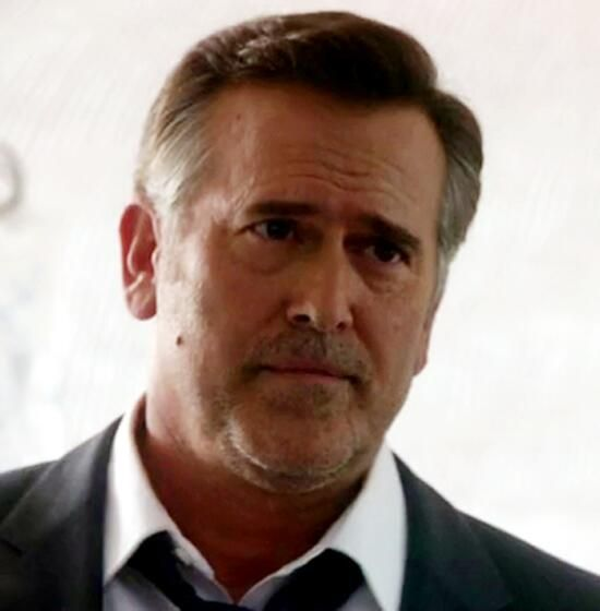 Bruce Campbell as Sam Axe in Burn Notice 7.09 Bitter Pill