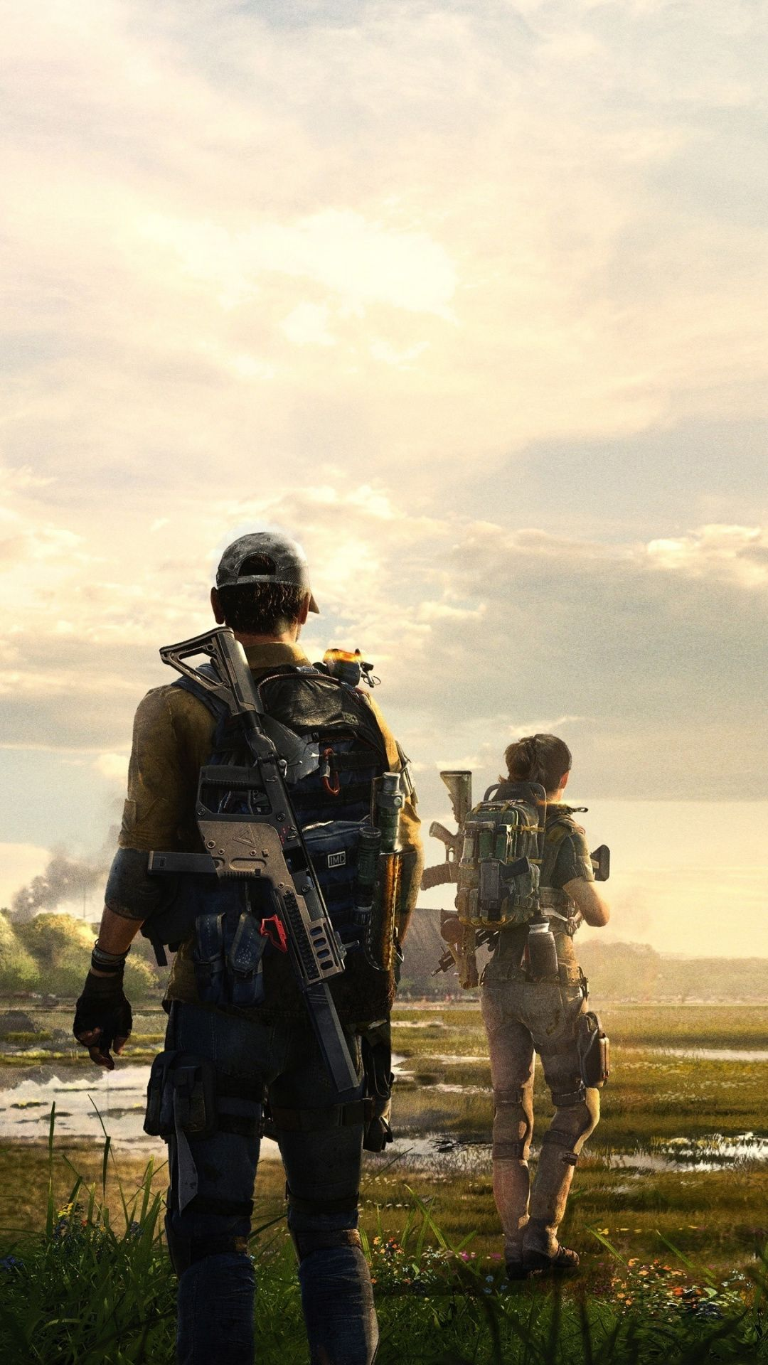 Tom Clancy S The Division 2 Video Game Landscape Soldiers