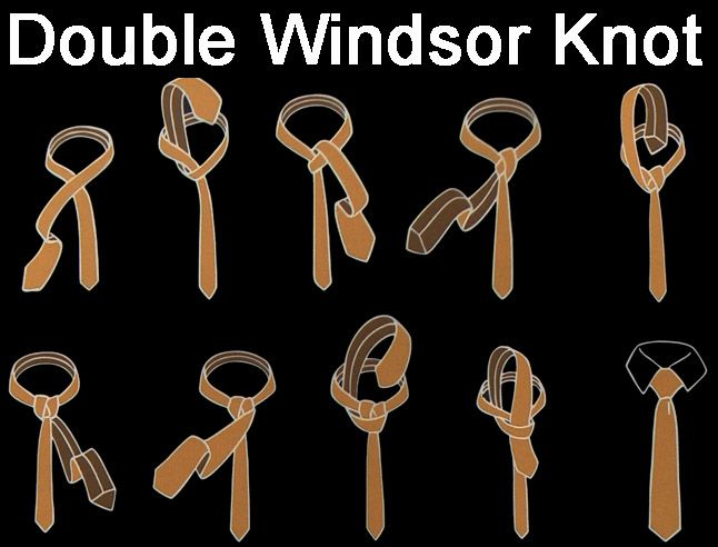 Double Windsor Knot Diagram Trusted Wiring Diagram