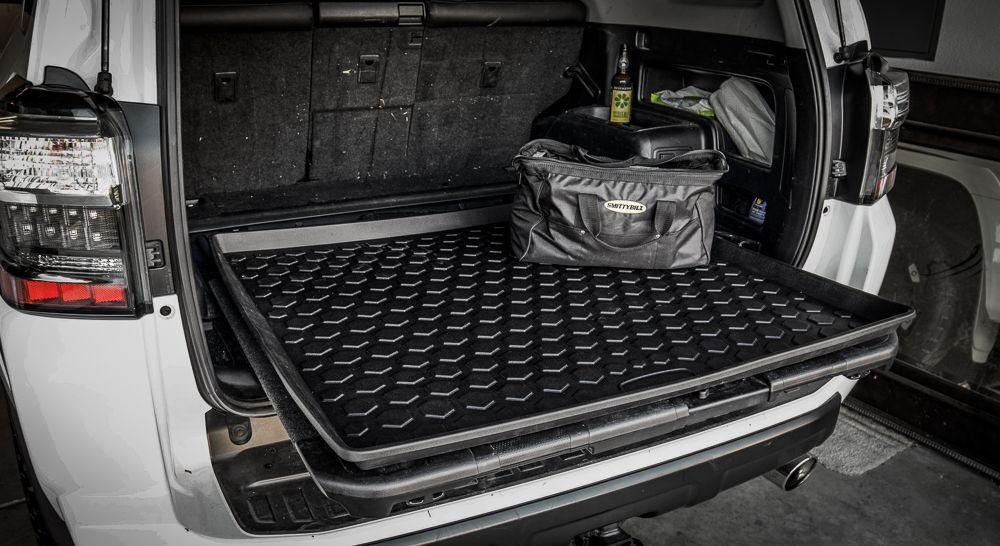 Rear Cargo Mat 5th Gen 4runner Trail Deck