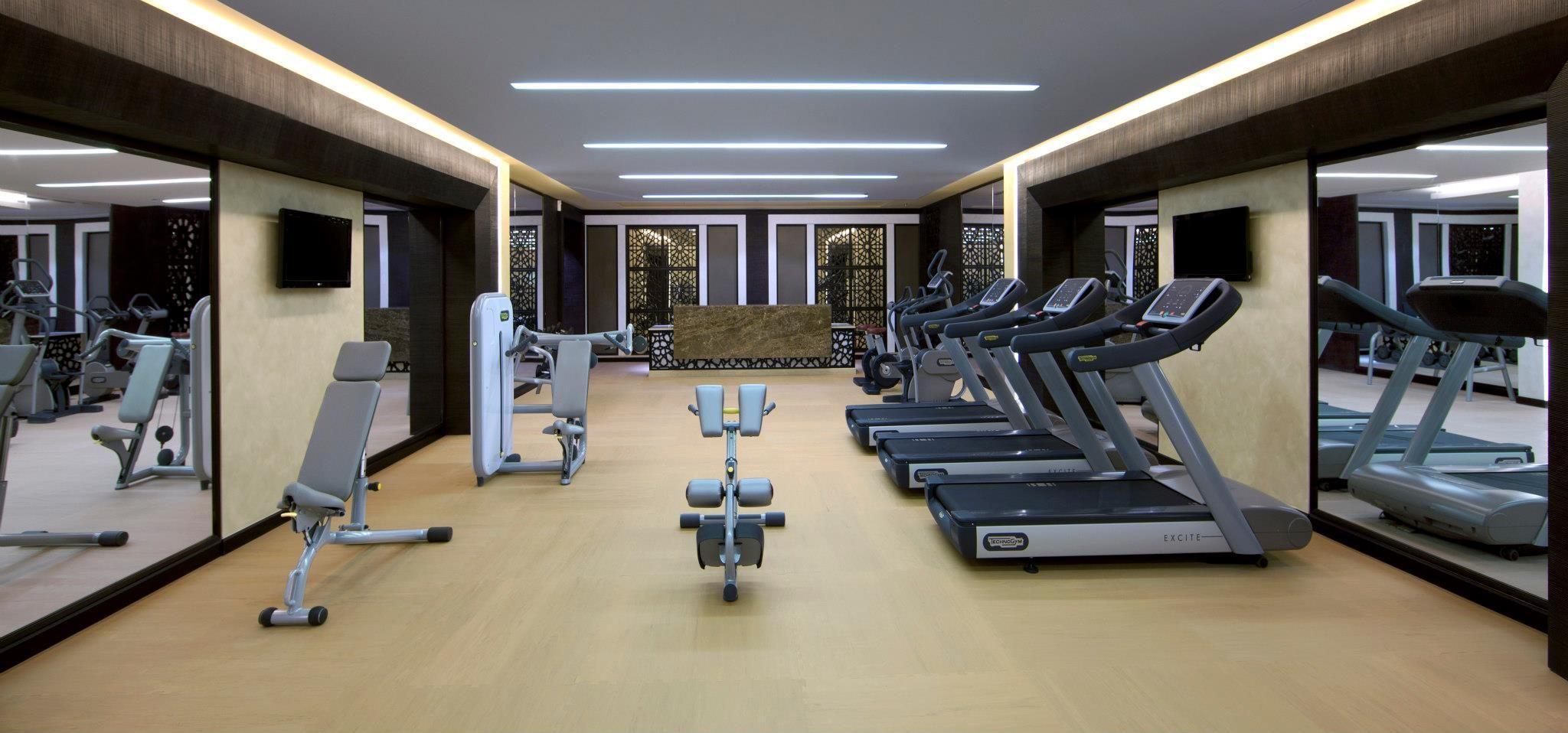 Gym at the al mirqab boutique hotel souq waqif doha qatar