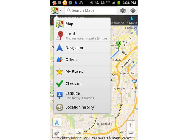 Google Updates Android Maps App After Apple Boots It From Iphone