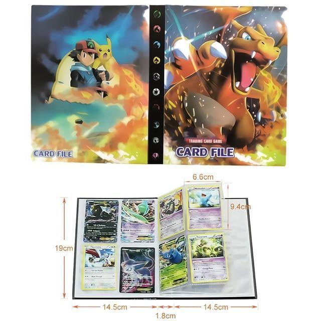 Photo of Pokemon Cards Album Book Cartoon – Anime 80/240PCS Game Cards – 14
