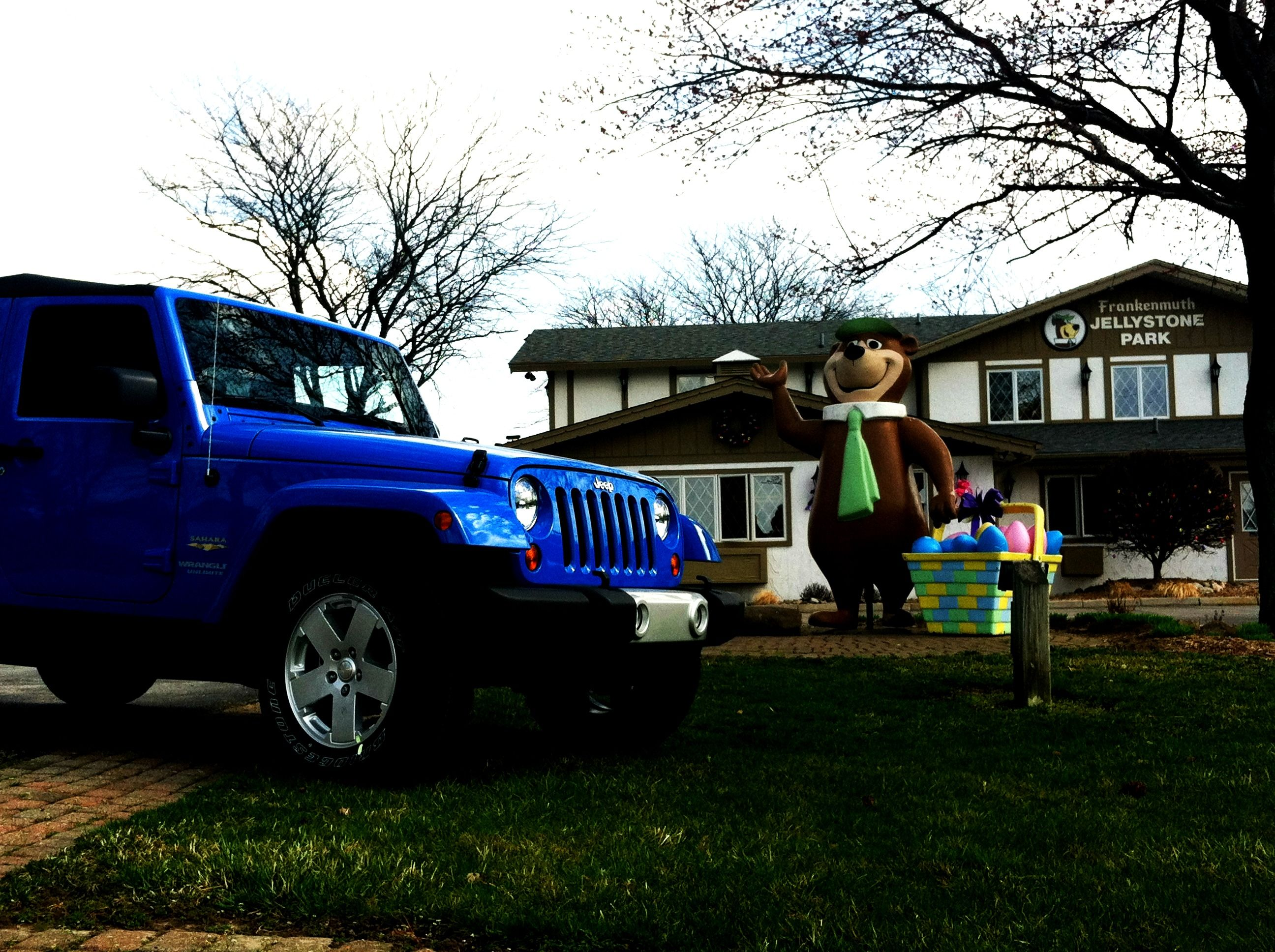 Schaefer & Bierlein s Jeep Wrangler was perfect for a nice day out