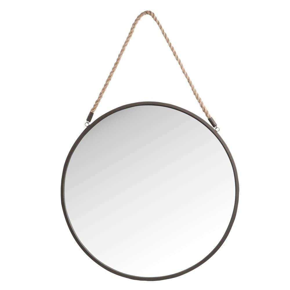 Espejo De Metal D 60 Espejos De Pared Espejos Espejo Redondo