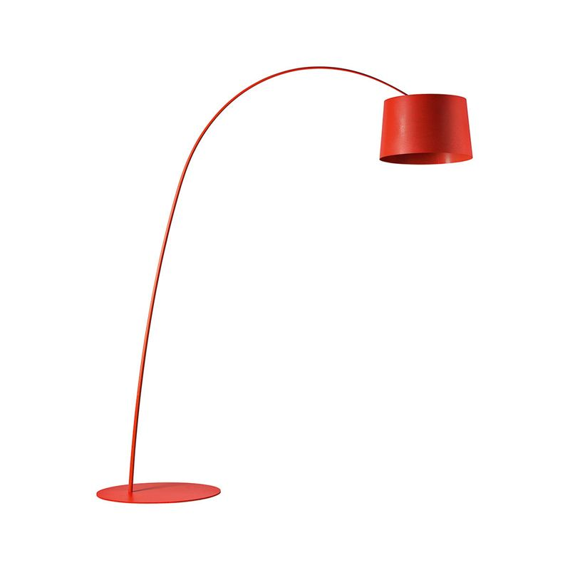 Red Fibreglass Extend Floor Lamp With Images Red Floor Lamp Lamp Floor Lamp