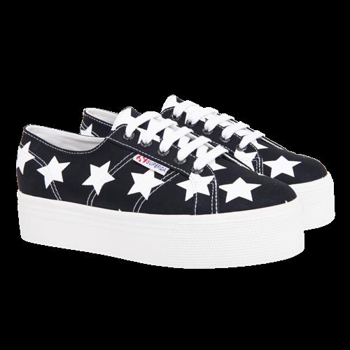 Superga Lizzy White Stars | Schoenen