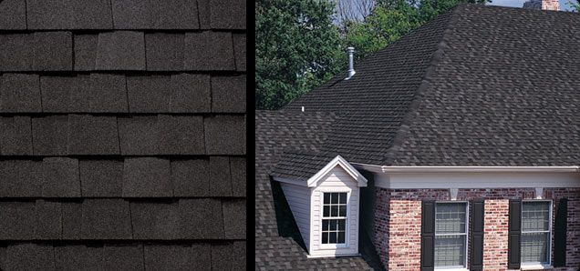Best Rustic Black Shingles Now On Garage And Workshop Roof 400 x 300