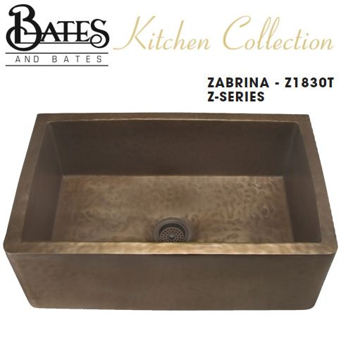 Bates & Bates Kitchen Sink - Z1830T Zabrina Z Series - Textured (6 ...