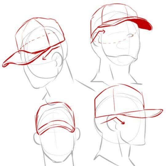 Hat Poses: Cap Angles, Hats En 2019