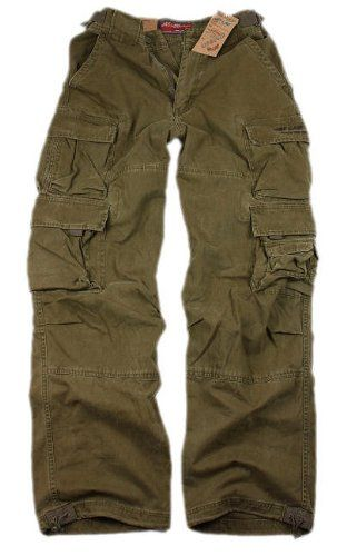 fe36696dd6 Jet Lag JetLag cargo trousers 007 trousers brown-olive: Amazon.co.uk:  Clothing