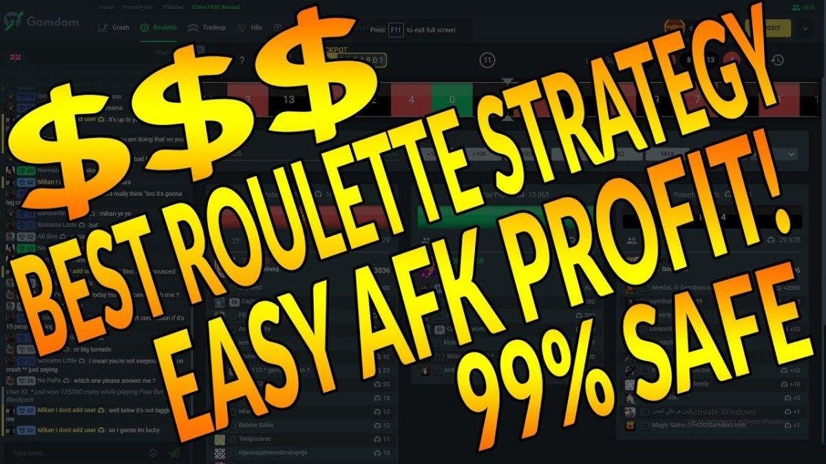 Safest Roulette Strategy
