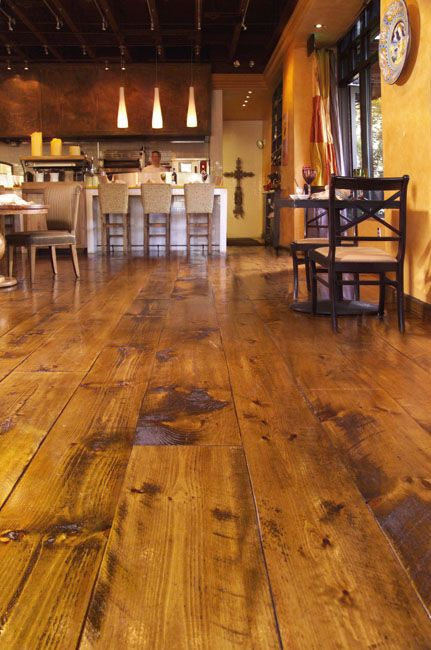Distressed Wood Flooring And Pine Flooring From Carlisle